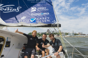 Phil teams up with Adrien and Milan the Transat QSM