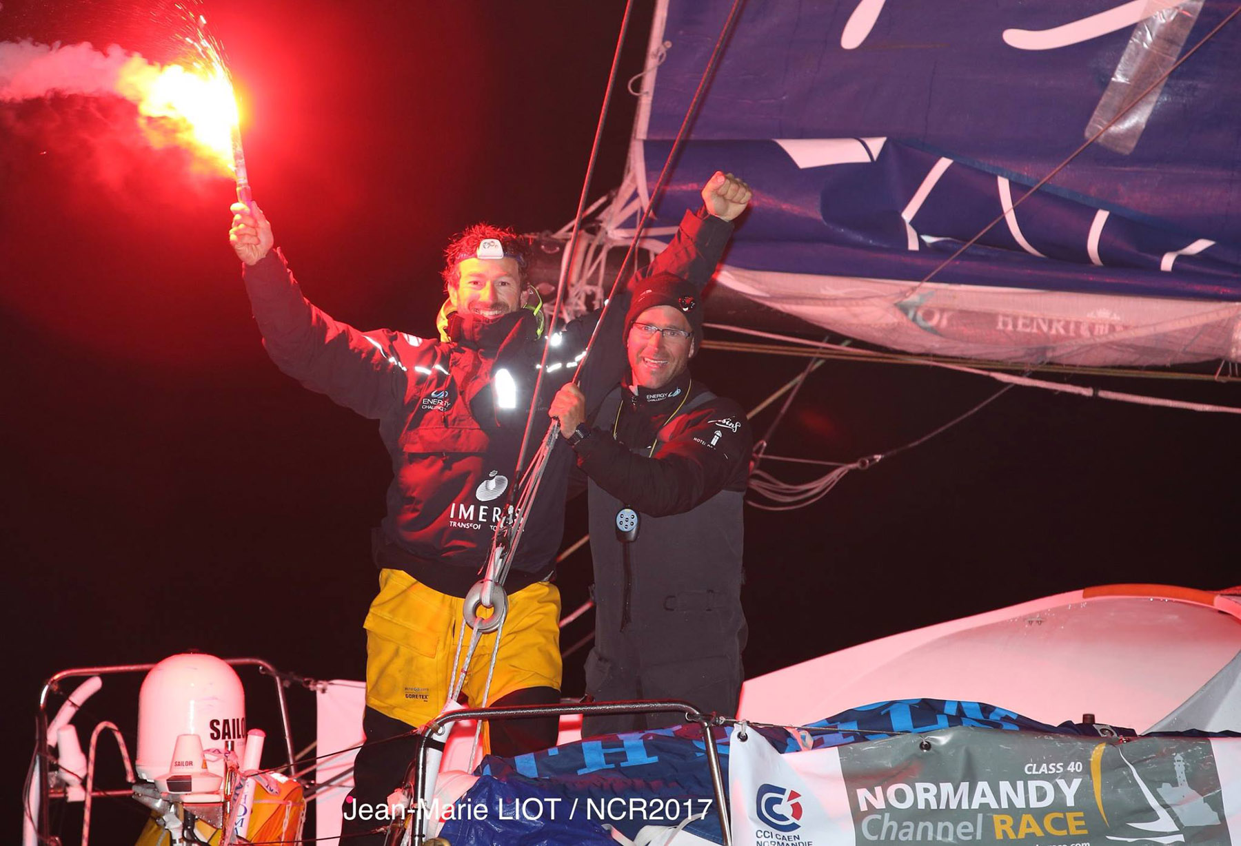 Victory for Phil Sharp and Pablo Santurde in the Normandy Channel Race